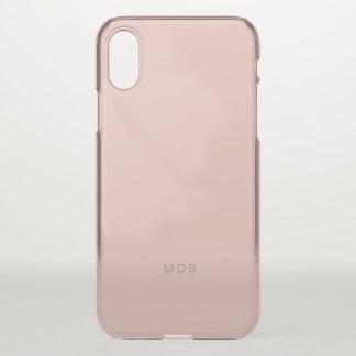 Gentle Millennial Rose Pink iPhone X Case
