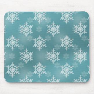 Gentle Snow Storm Mousepad