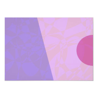 "Gentle Sunrise 5"" X 7"" Invitation Card"