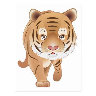 Gentle Tiger Postcard