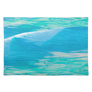 """Gentle Wave"" Abstract Painting Placemat"