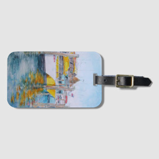 Gentle Winds Luggage Tag