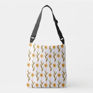 Gentle Yellow Daisies Cross Body Bag
