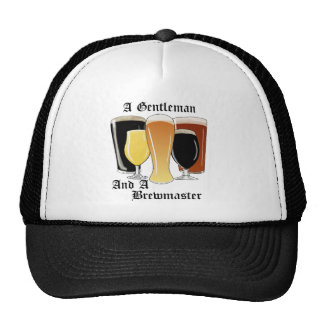 Gentleman brewmaster  trucker hat