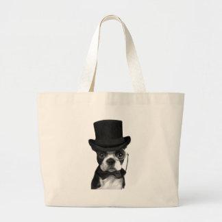 Gentleman Dog Jumbo Tote Bag