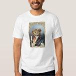 Gentleman Dog Vintage Illustration T Shirts
