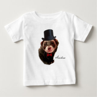 Gentleman ferret baby T-Shirt