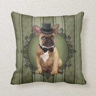 Gentleman French Bulldog Cushion