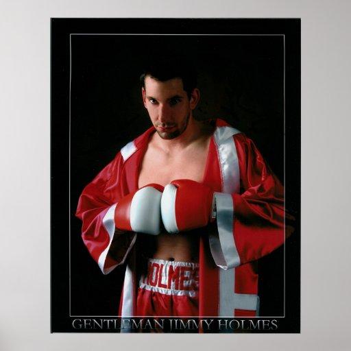 """Gentleman"" Jimmy Holmes Poster"