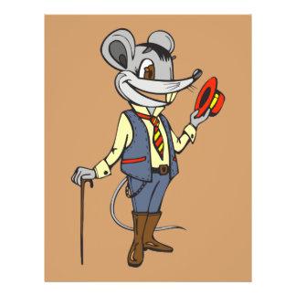 Gentleman Mouse 21.5 Cm X 28 Cm Flyer