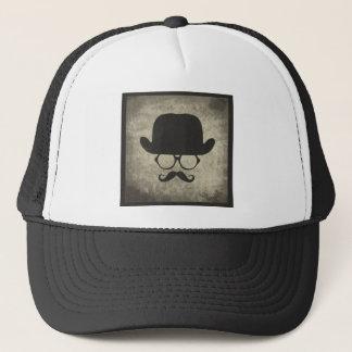 Gentleman Must-Dash Moustache Bowler Hat