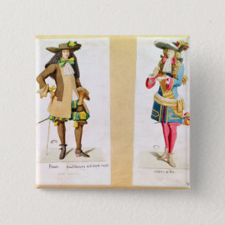 Gentleman of the Royal Family 15 Cm Square Badge