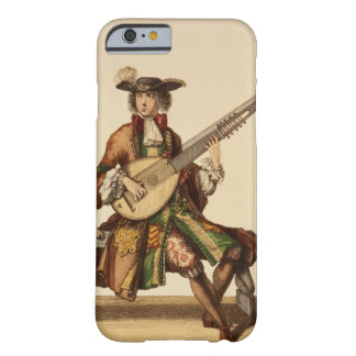 Gentleman Playing the Angelica, fashion plate, c.1 Barely There iPhone 6 Case