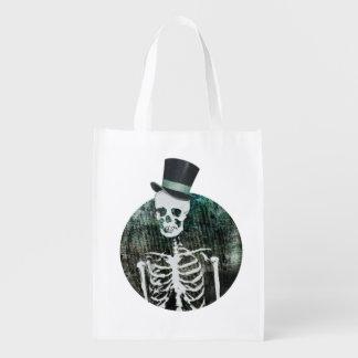 Gentleman Skeleton Trick-or-Treat Bag