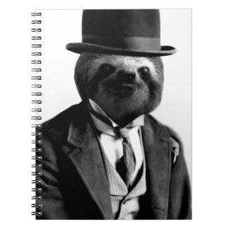 Gentleman Sloth #2 Notebook