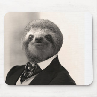 Gentleman Sloth #4 Mouse Mat