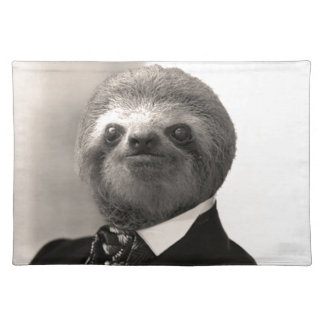 Gentleman Sloth #4 Placemat