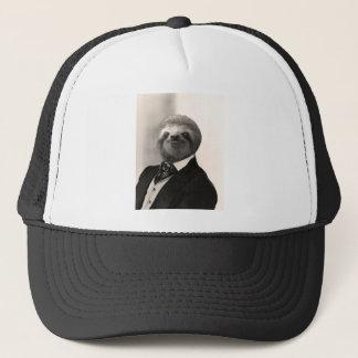 Gentleman Sloth #4 Trucker Hat
