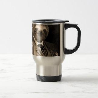 Gentleman Sloth 7# Travel Mug