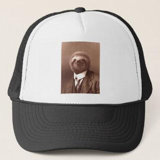 Gentleman Sloth Trucker Hat