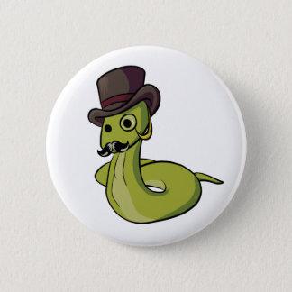 Gentleman Snake! 6 Cm Round Badge