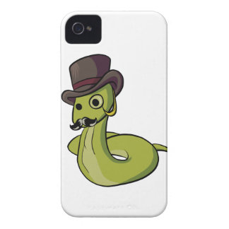 Gentleman Snake! iPhone 4 Cover