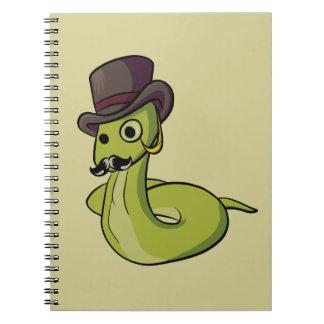 Gentleman Snake! Notebook