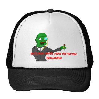 Gentleman Zombie Cap