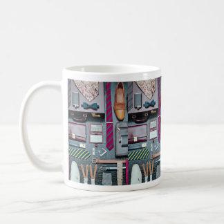 Gentleman's dress accessories mug