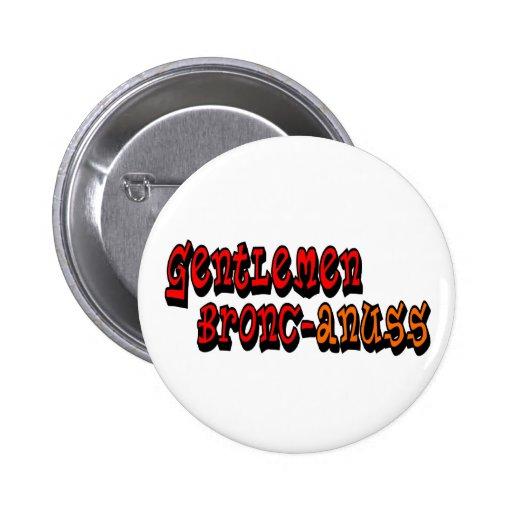 Gentlemen Bronc-anuss Broncos Buttons