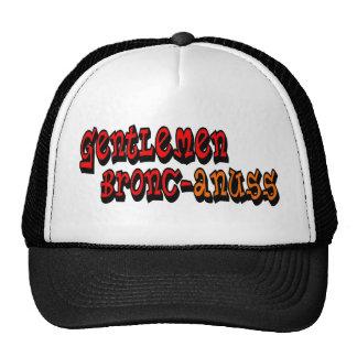 Gentlemen Bronc-anuss Broncos Hats