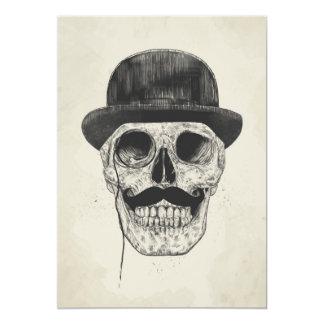 Gentlemen never die 13 cm x 18 cm invitation card