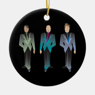 Gentlemen Only Ornament