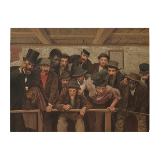 Gentlemen Watching a Cockfight by Horace Bonham Wood Wall Decor