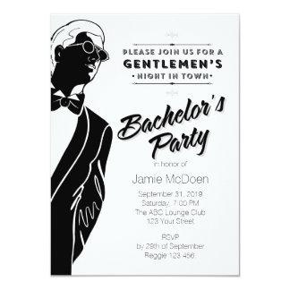 Gentlemen's Bachelor's Party Announcements
