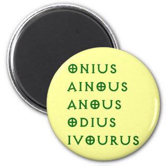 Gentlement Broncos Onius, Ainous, Odius, Ivourus 6 Cm Round Magnet