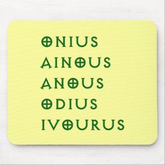 Gentlement Broncos Onius, Ainous, Odius, Ivourus Mouse Pad