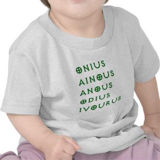 Gentlement Broncos Onius, Ainous, Odius, Ivourus T-shirts