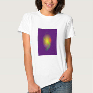 Gently Wrapped by Dark Purple Tee Shirt