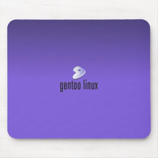 Gentoo Linux Purple Mouse Mat