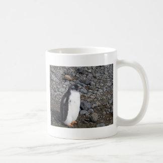 Gentoo penguin chick at Brown Bluff Coffee Mug