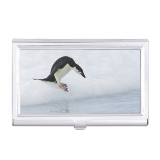 Gentoo penguin (Pygoscelis papua) Business Card Holder