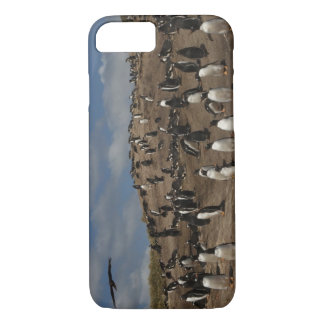 Gentoo Penguin (Pygoscelis papua) colony on West iPhone 8/7 Case