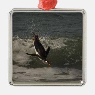 Gentoo Penguin (Pygoscelis papua) Sea Lion Christmas Ornament