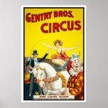 Gentry Bros. Circus, 1920 Poster