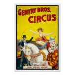 Gentry Bros. Circus, 1920 Posters