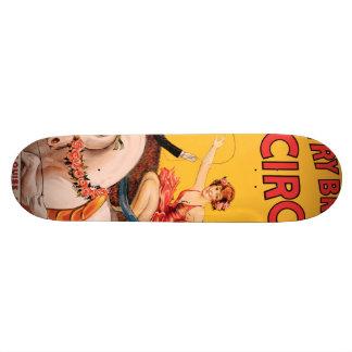 Gentry Bros. Circus 21.3 Cm Mini Skateboard Deck