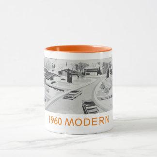 Genuine 60's Modernist Residential Mug
