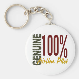 Genuine Airline Pilot Key Ring