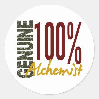 Genuine Alchemist Round Stickers